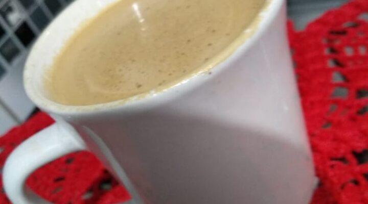 Café Cremoso na Batedeira