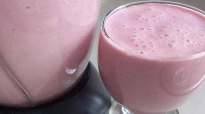 Iogurte de Morango Econômico
