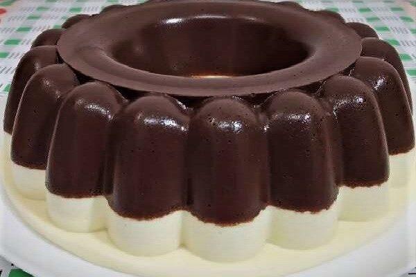 Pudim de Chocolate com Leite Ninho