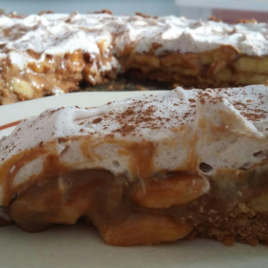 Torta de Banana Banoffee