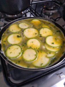 Omelete de abobrinha 4