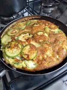 Omelete de abobrinha 5