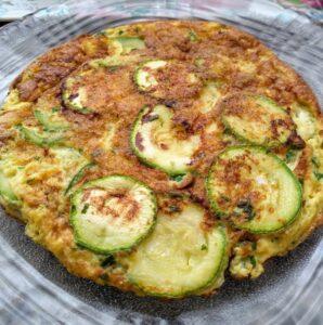 Omelete de abobrinha receita